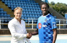 Angolan international and former Deportivo de La Coruña player joins Waterford