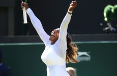 Serena Williams 'trying to find the rhythm' after powering to Wimbledon second round