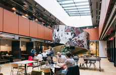 Shared office space provider WeWork is taking over another building in Dublin