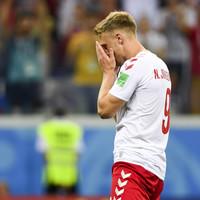 Denmark striker Jorgensen receives death threats after World Cup penalty miss