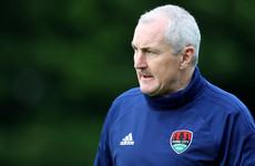 Cork cannot compete financially with title-rivals Dundalk in terms of signings, says Caulfield