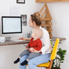 Naptime deadlines and ignoring the dishes: 9 realistic tips for working from home with kids