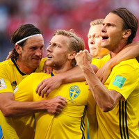 Bundesliga star Forsberg on target as Sweden book World Cup quarter-final spot