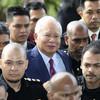 Ex-Malaysian prime minister Najib Razak charged in corruption scandal