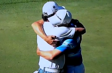 WATCH: McIlroy and Garcia embrace each other