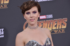 Scarlett Johansson had a pretty choice response to criticism over her new role as a transgender man