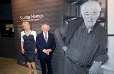 Seamus Heaney letters, diaries and manuscripts on display to the public from tomorrow