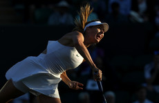 Sharapova insists she's made 'a lot of progress' after shock first round Wimbledon exit