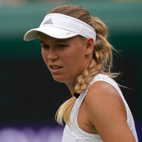 'I would be very surprised if you saw her go far,' says Wozniacki of Wimbledon opponent after shock defeat