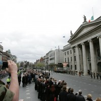 In pictures: Crowds gather to remember the 1916 Easter Rising