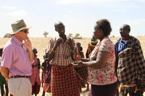 Paul Healy in Turkana, Kenya