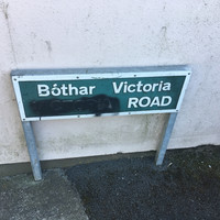 Republican group stages 'action against colonialism' by spraying over 'Victoria' on Dublin street sign