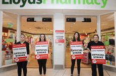 Six stores closed as over 240 Lloyds Pharmacy workers to take part in a strike today