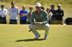 McIlroy plays down putting problems despite more missed chances on Ballyliffin greens