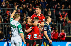 Ronan O'Gara and the Crusaders secure Super Rugby top spot