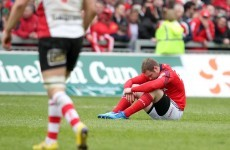Paulie rues Munster mistakes on dark day in Thomond