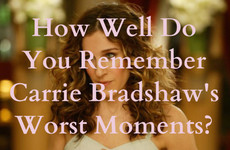 How Well Do You Remember Carrie Bradshaw's Worst Moments in SATC?