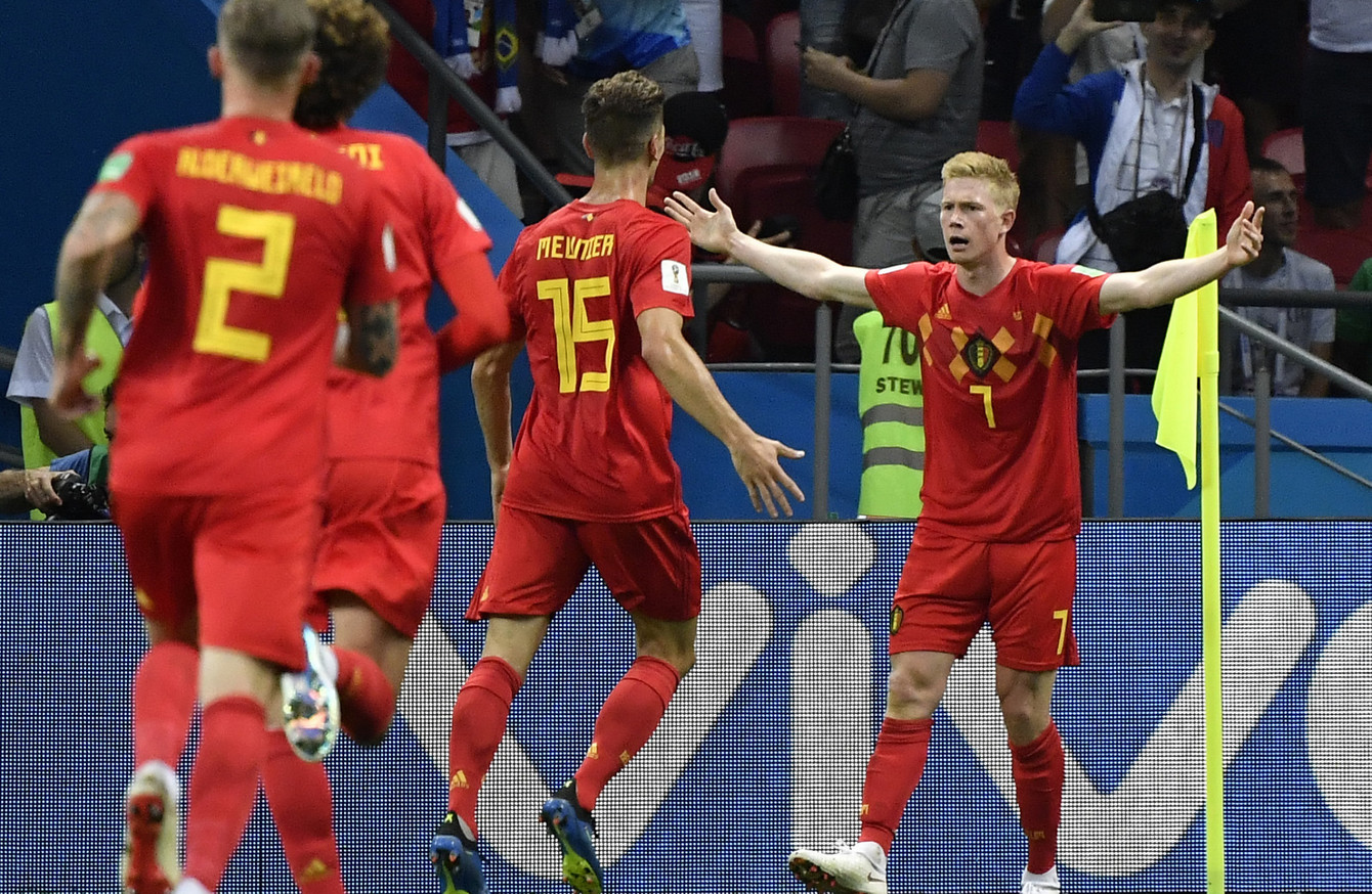 Kevin De Bruyne starred as Belgium dump Brazil out of the World Cup. 49a964ed1e914
