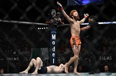 Irishman Richie Smullen suffers first-round loss in UFC debut