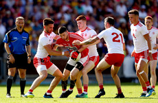 McAliskey, O'Neill and Bradley goals help Tyrone power past 14-man Cork