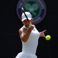 World number one Simona Halep becomes the latest top-10 seed to crash out of Wimbledon