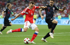 As it happened: Russia v Croatia, World Cup quarter-final