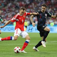 As it happened: Russia v Croatia, World Cup quarter-final