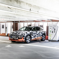 Audi has unveiled the futuristic interior of its new e-tron Quattro electric SUV