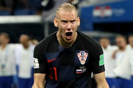 Croatia defender Domagoj Vida.