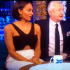An old clip of Louis Walsh touching Mel B's bum on live TV is being criticised on Twitter