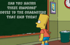 Can You Match These Simpsons' Quotes to the Characters That Said Them?