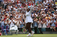 18-in-a-row! Serena extends Wimbledon winning run to make quarters