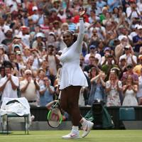 18-in-a-row! Serena extends Wimbledon winning run to make quarters