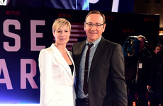 House of Cards co-star Robin Wright says she was 'surprised' by Spacey allegations
