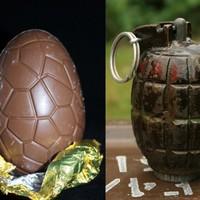 Toddler on Easter egg hunt finds hand grenade