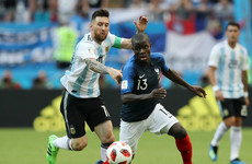 After keeping Messi quiet, Deschamps backs Kante to shut down Hazard
