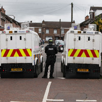 Petrol bombs thrown at police in third night of violence in Derry