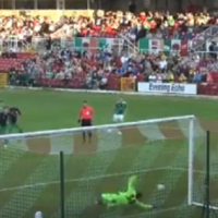 Watch: 16-year-old Hoops keeper draws praise for stunning penalty save against Cork City