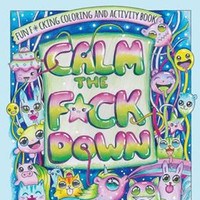 An Irish illustrator has designed a very sweary colouring book for stressed out adults