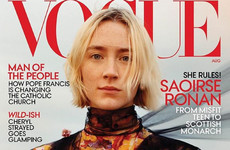 "Saoirse Ronan told Vogue Magazine she was ""so proud"" of Ireland for repealing the 8th"