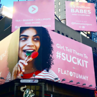 Jameela Jamil blasted a company for advertising their appetite suppressants in Times Square