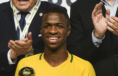 Brazilian teenage prodigy 'nervous' ahead of €45 million Real Madrid move