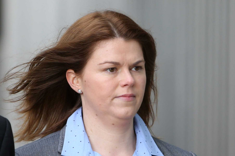 Sandra Higgins during a previous trial