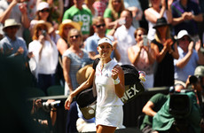Kerber storms into second Wimbledon final with 67-minute masterclass on Centre Court