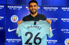 Confident Mahrez expects central role with Pep's Manchester City side