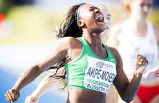 Ireland's Akpe-Moses finishes outside medals in World 100m final