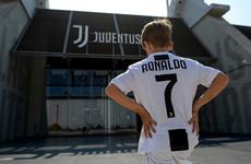 Cuadrado has 'no problem' giving up Juve number 7 shirt to Ronaldo