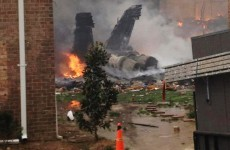 """""""The pilot is on my patio"""" - 911 tapes from Virginia jet crash released"""