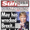 White House says Trump 'likes and respects' May as he blasts her Brexit plan in Sun interview