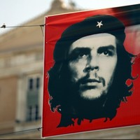Scale model of Che Guevara monument being built